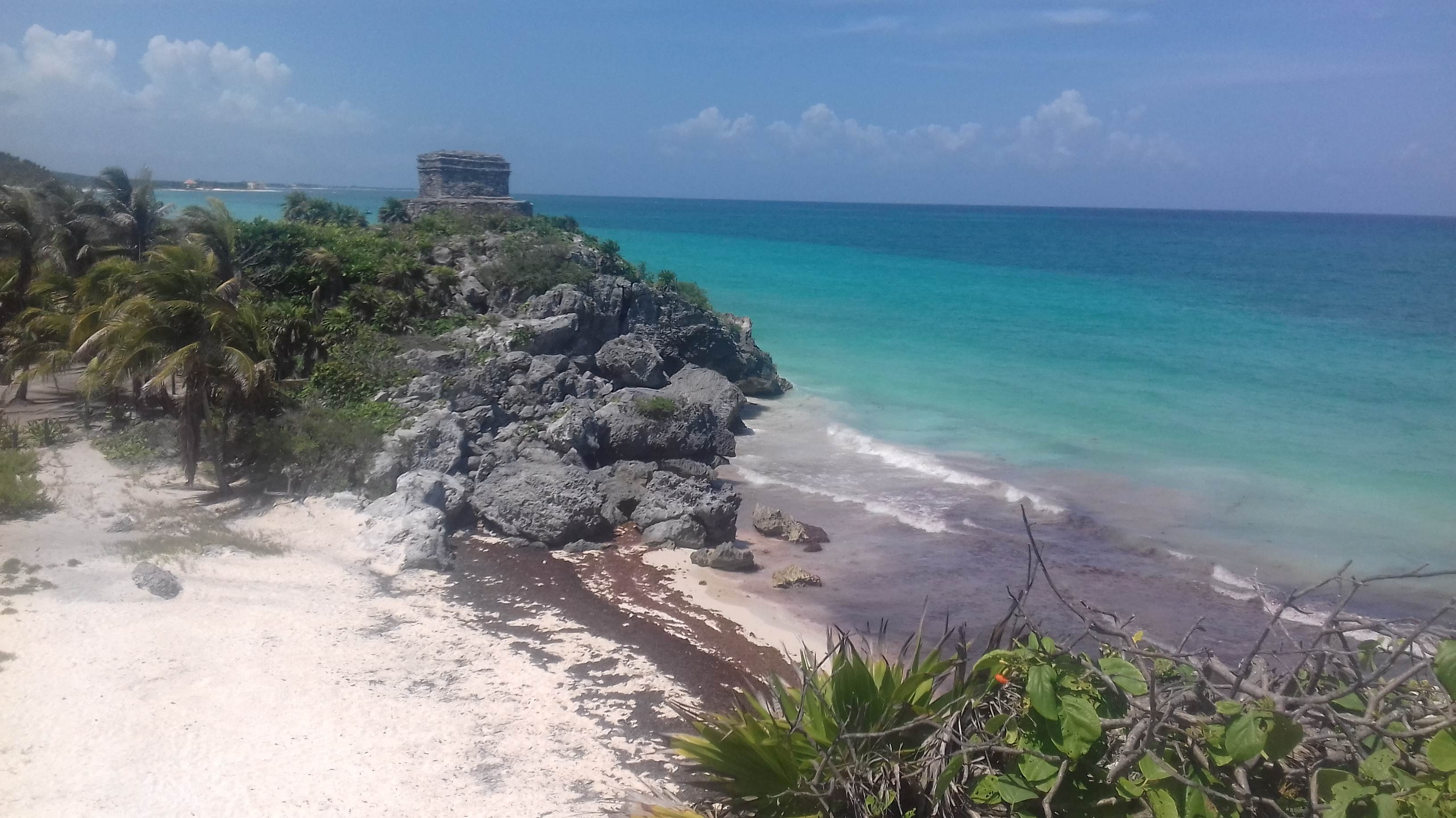 View from Tulum Ruins